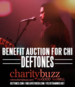 Benefit Auction For Chi - Deftones