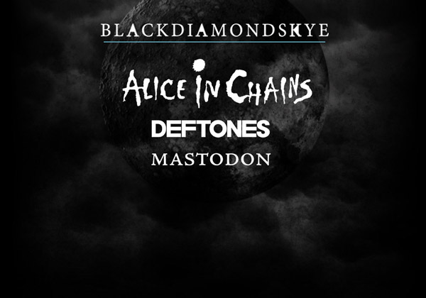 Alice in Chains, Deftones и Mastodon в турне «Blackdiamondskye»