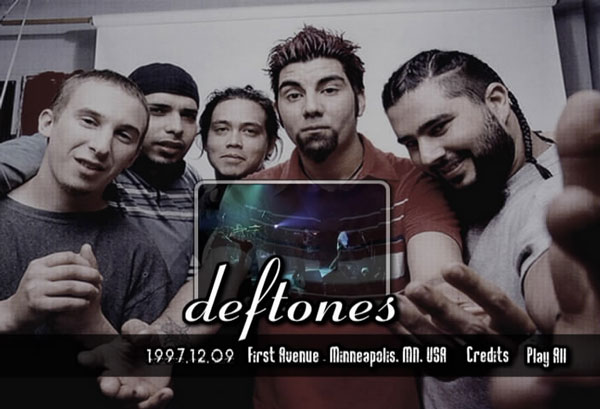 Deftones live @ First Avenue — Minneapolis, MN (09.12.1997)