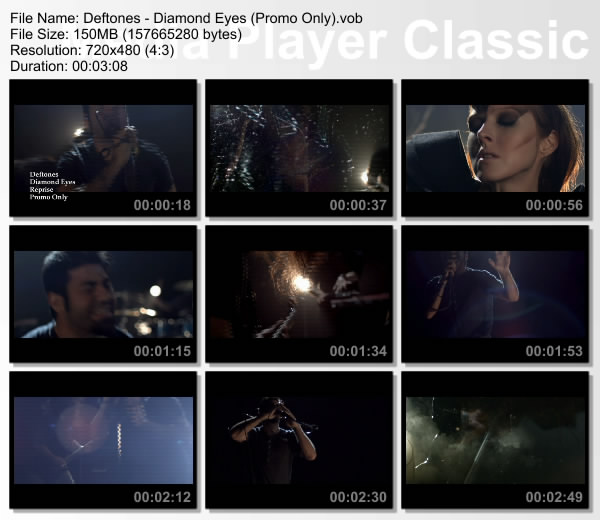 Deftones — «Diamond Eyes» (promo only) (DVD)