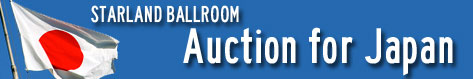 Starland Ballroom Auction For Japan
