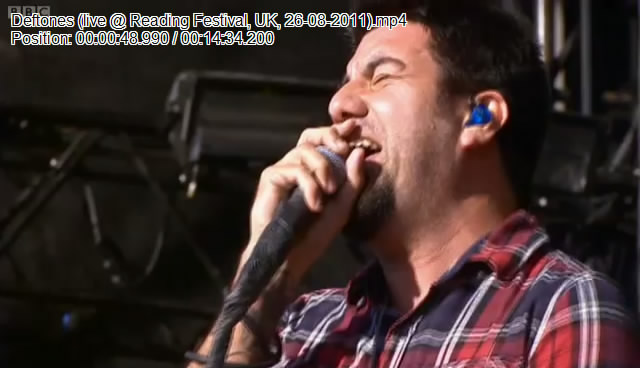 Deftones (live @ Reading Festival, UK, 26.08.2011)