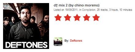 Deftones Mix 2 (by Chino Moreno)