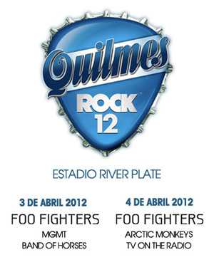 Quilmes Rock 2012 Line-Up