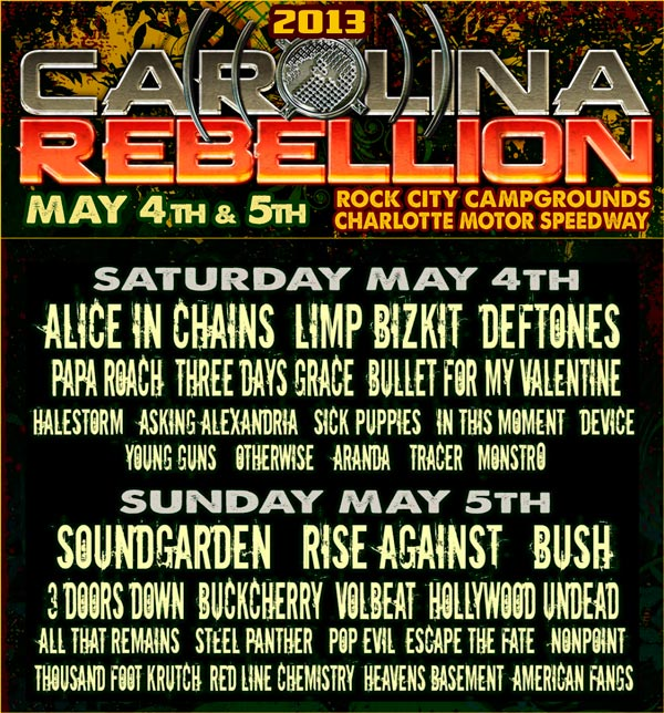 Carolina Rebellion 2013
