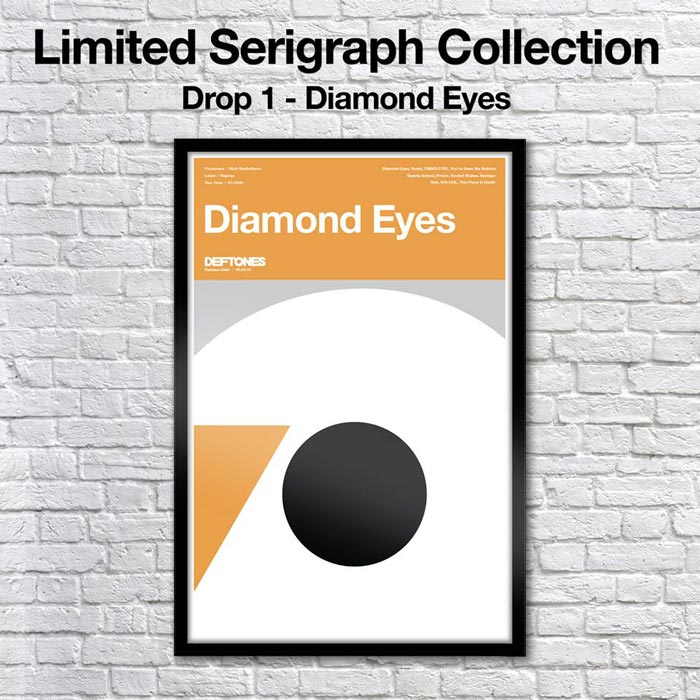 Limited Edition Diamond Eyes Serigraph