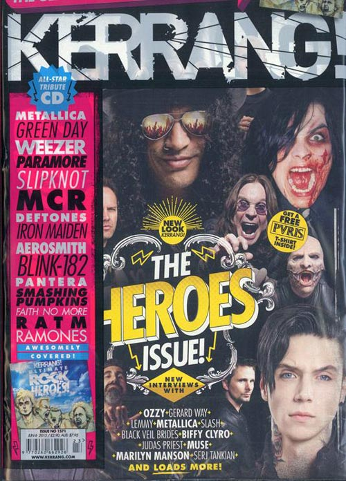 Журнал Kerrang! The Heroes Issue! (K!1571)