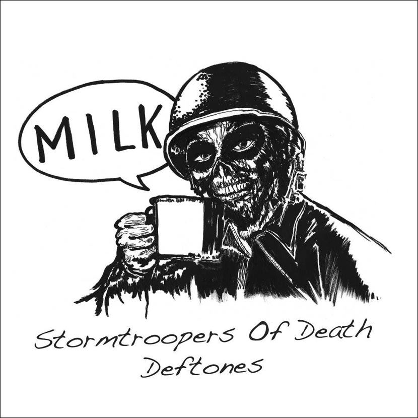"Stormtroopers Of Death / Deftones — «Milk» (7"")"