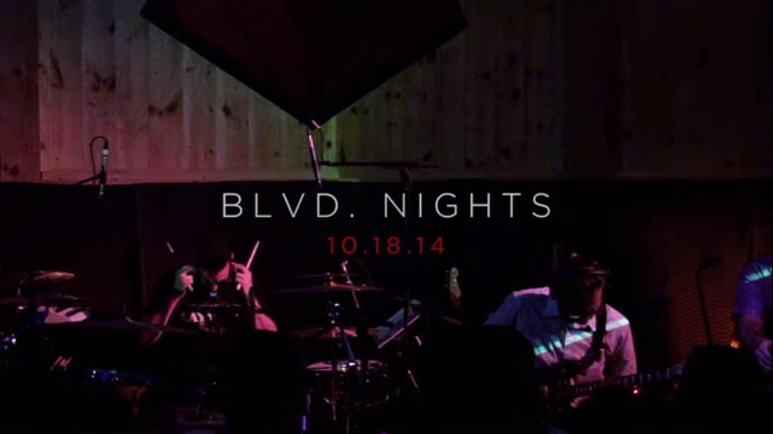 Team Sleep — «Blvd. Nights» (Woodstock Sessions)