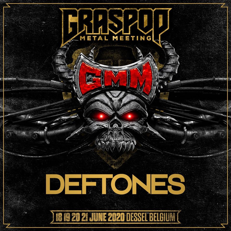 Deftones выступят на фестивале «Graspop Metal Meeting» в Бельгии