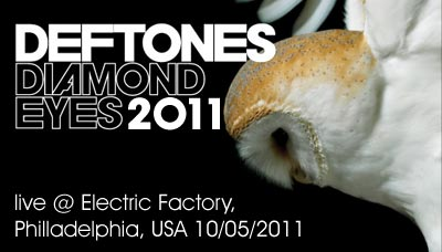 Deftones live @ Electric Factory, Philladelphia, USA (10.05.2011))