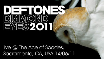 Deftones live @ The Ace of Spades, Sacramento, USA (14.06.2011)
