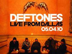 Прямая трансляция концерта Deftones в Далласе 4 мая