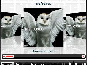 Listen to «Diamond Eyes» exclusively through NME.COM