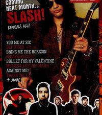 Обложка журнала «Rock Sound» (апрель 2010 г.)