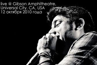 Deftones live @ Gibson Amphitheatre, Universal City, CA, USA (12 октября 2010 года)