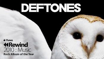 «Diamond Eyes» — лучший рок-альбом года на iTunes