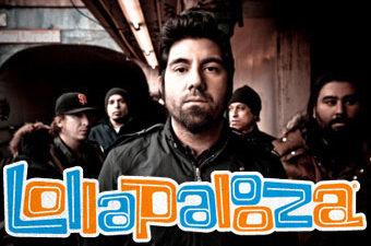 Deftones на фестивале Lollapalooza