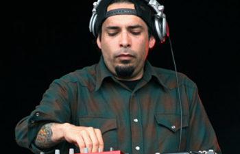Клавишник и DJ группы Deftones Фрэнк Делгадо (Frank Delgado)