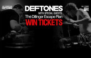 Группа Deftones дарит билеты на свои концерты в США