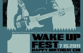 Wake Up Fest в день рождения Чи Ченга, 15 июля, Клифтон, Нью-Джерси, США