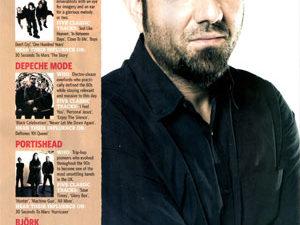 Чино Морено в сентябрьском номере журнала «Rock Sound»