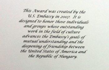 The Ambassador's Award for Cultural Diplomacy — группе Deftones