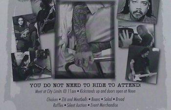 Официальный флаер мероприятия «Awareness Ride For Chi»