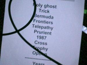Сет-лист концерта ††† (Crosses) 28 марта 2012 г.