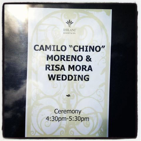 "Свадьба Чино Морено и Рисы Моры. Camilo ""Chino"" Moreno & Risa Mora Wedding"
