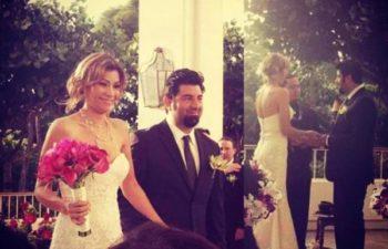 Свадебная церемония - Риса Мора и Чино Морено