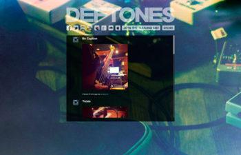 Новый дизайн официального сайта Deftones.Com