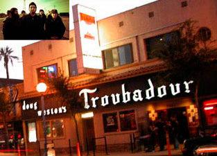 Deftones выступят в клубе Troubadour