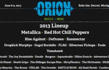 Участники фестиваля «Orion Music + M