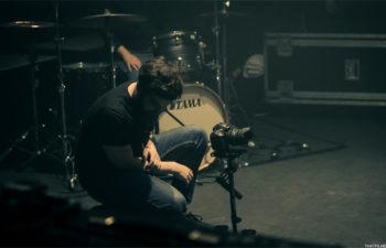 Райан Макфалл (Ryan Mackfall) на съемках клипа для Deftones