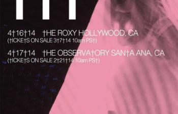 Концерты ††† (Crosses) в Калифорнии