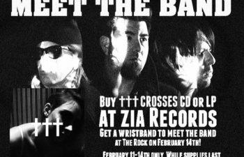 Купи CD и попади на встречу с группой ††† (Crosses)