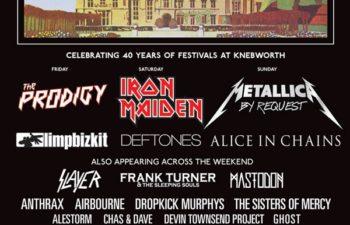 Список участников фестиваля Sonisphere 2014