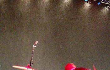 Сильнейший ливень не дал группе Deftones закончить свое выступление в Гвадалахаре, Мексика, 7 сентября 2014 года