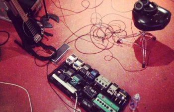 В студии группы Palms