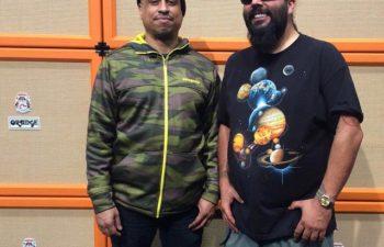 Сержио Вега и Стивен Карпентер на NAMM-2015