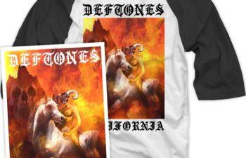 Новый эксклюзивный мерчендайз Deftones