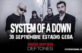 Концерт System Of A Down и Deftones 30 сентября в Буэнос-Айресе, Аргентина.