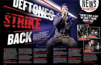 Deftones наносят ответный удар. Интервью с Чино Морено в журнале «Kerrang!»