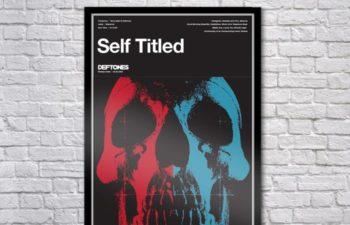 Limited Edition Self Titled Deftones Serigraph