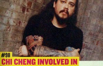 Чи Ченг попал в ужасную автокатастрофу 4 ноября 2008 года (журнал Rock Sound #200, июнь 2015 г.)