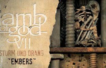 Lamb of God — «Embers» (feat. Chino Moreno)