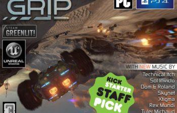Игра GRIP, для которой группа Sol Invicto запишет эксклюзивные треки