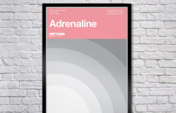 Limited Edition Adrenaline Serigraph