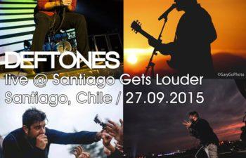 Deftones live @ Santiago Gets Louder, Сантьяго, Чили, 27 сентября 2015 г.